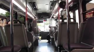 Bethesda Circulator 2011 ElDorado National E-Z Rider II BRT Ride!