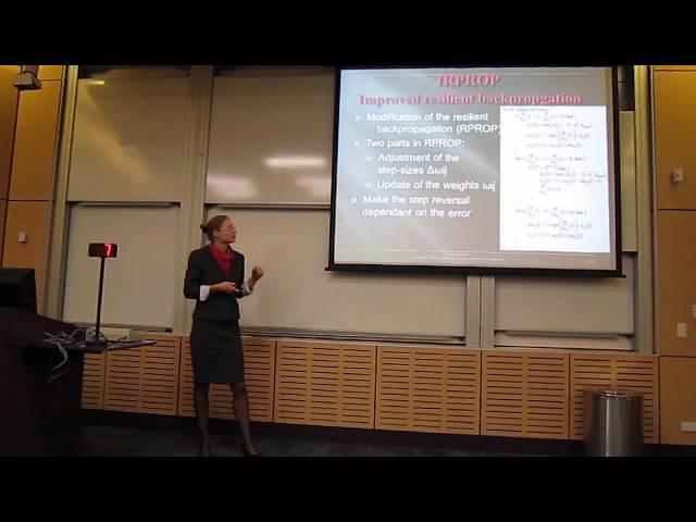 Developing Training Algorithms for Convolutional Neural Networks