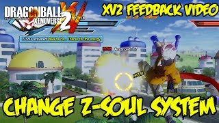 Dragon Ball Xenoverse 2 Feedback: Change the Z-Soul System! Stat Boosts Only or Change Fight Styles