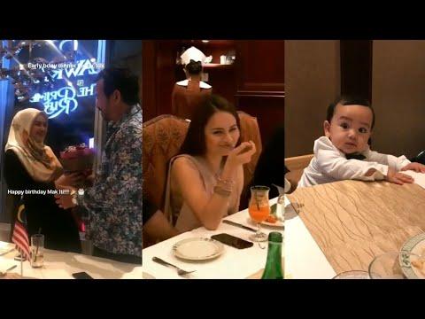 Datuk Siti Nurhaliza, Izara Aishah & family pergi dinner di Singapore