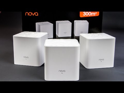 Tenda nova MW3: Wi-Fi на 300 квадратов из одной коробки