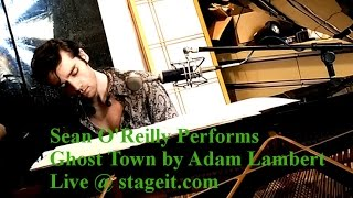 Adam Lambert - Ghost Town - Live Acoustic Cover by Sean O