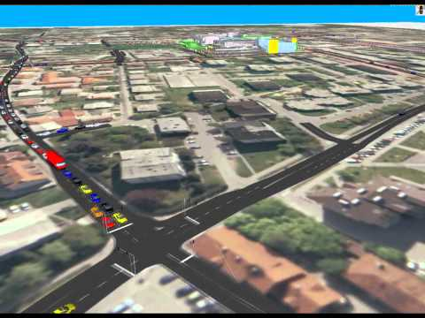 Traffic System for a New Shopping Mall in Domzale