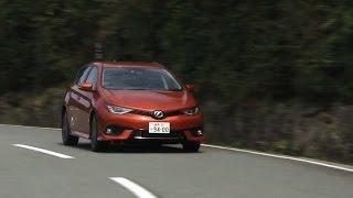 2015年4月にマイナーチェンジされたトヨタ・オーリスの「RS」グレードの...