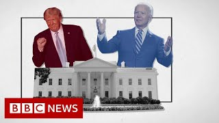 US Presidential debate: Trump and Biden trade insults in chaotic debate - BBC News