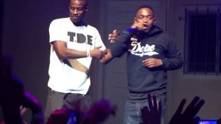 Kendrick Lamar-Cartoons & Cereal Live at Club Nokia 10/17 Los Angeles