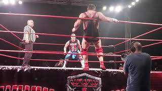 Santino Marella vs El Paparazzi  en W.W.W. Puerto Rico (3/16/19)