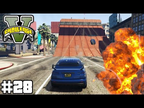 KURUMA VS MINIGUN - ALLE AUF MARBOSSA ! (+DOWNLOAD) | GTA V CHALLENGES