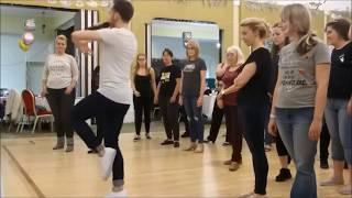 Leave A Light On line dance by Guillaume Richard (filmed at Strictly Stoke Jan. 2018)