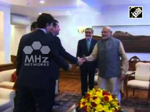 Afghan CEO calls on Indian Prime Minister Modi (Feb 01, 2016)