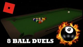8 Ball Pool In Roblox!!!| 8 Ball Duels