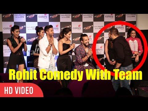 Rohit Shetty Comedy With Team Khatron Ke Khiladi Season 8   Funny Moments