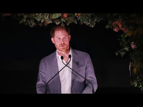 video: Prince Harry speech in full as he says he and Meghan are taking 'leap of faith' with Royal Family split