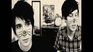 Dan and Phil (Phan) Superhero by Ross Lynch