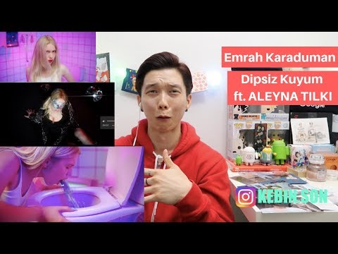 Emrah Karaduman - Dipsiz Kuyum ft. Aleyna Tilki REACTION!!! | TURKISH MV | KOREAN GUY REACTION