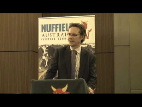 Guy Debelle gives the George Wilson Oration