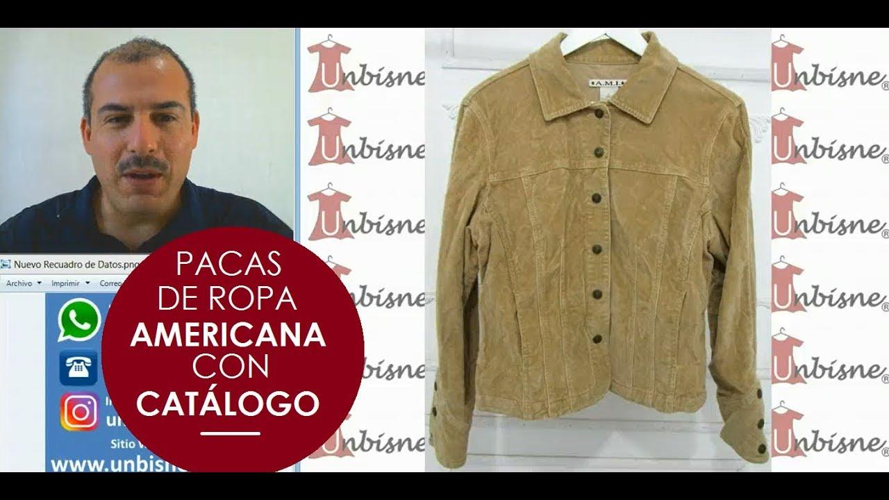 c5e64447bfe ¡Mira esta increíble ropa americana de paca nueva y premium! UNBISNE Pacas de  Ropa con Catálogo