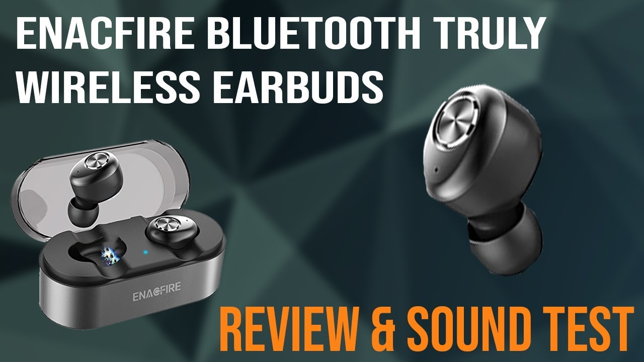 f9b95f9e1dd $50 Truly Wireless Bluetooth Earbuds Review & Sound Test | Enacfire E18  Earbuds
