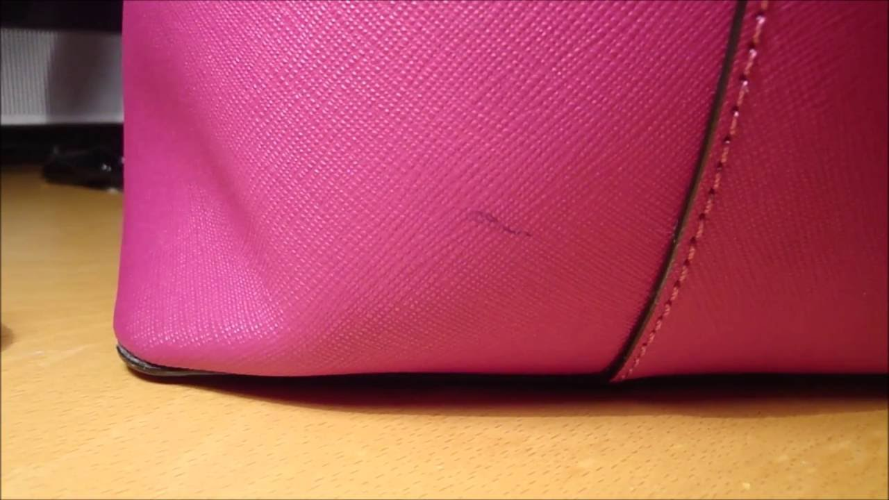 How To Remove An Ink Stain On Your Saffiano Leather Kate Spade Purse Warning May Fade Or Damage You