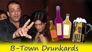 MUST WATCH Shahrukh Salman Khan  Sanjay Dutt get DRUNK