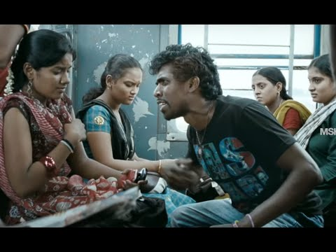 Fight Scene At Train - - Vallinam Tamil Movie Scene