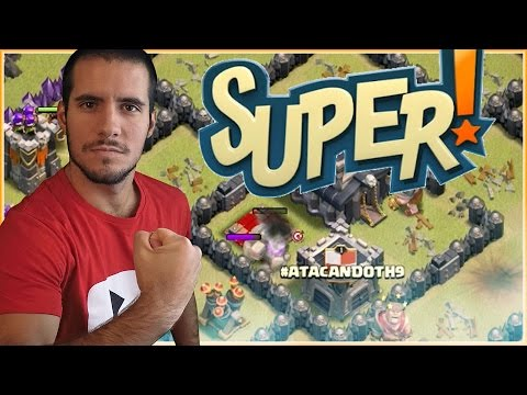 ATACANDO TU ALDEA TH 9 #15 - CLASH OF CLANS A POR TODAS CON ANIKILO