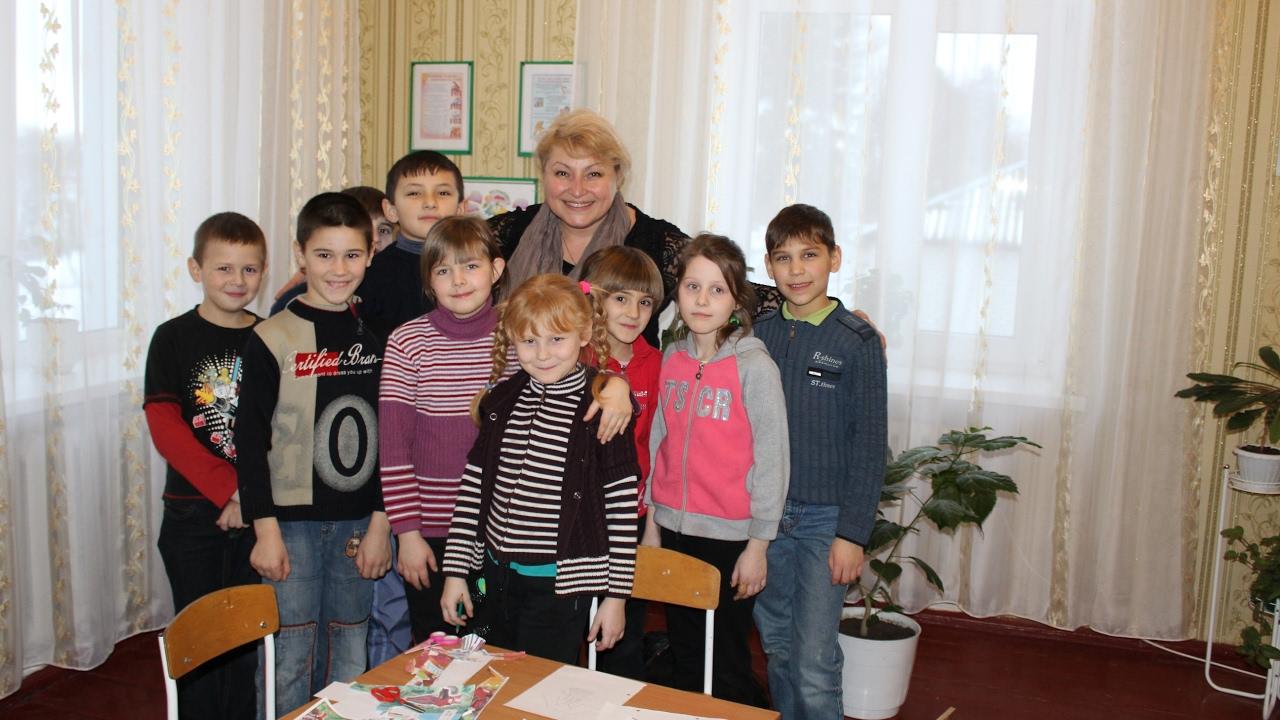 Risultati immagini per I bambini ucraini dell'orfanotrofio