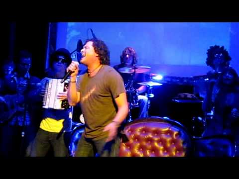Carlos Vives performing Fruta Fresca live at Gaira in Bogota, Colombia - May 2012