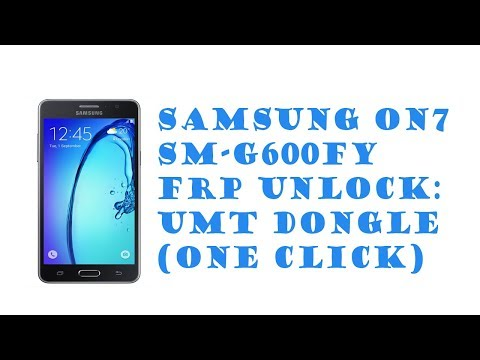 Samsung On7 SM-G600FY FRP Unlock: UMT (One Click) - YouTube
