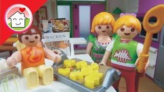 Playmobil Film deutsch Plätzchen backen - Familie Hauser Kinder Spielzeug Filme