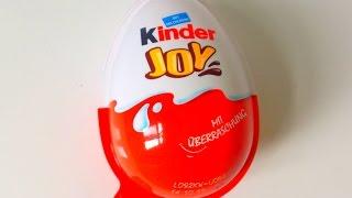 Kinder Joy Surprise Egg Unboxing 20...