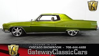 1970 Buick Electra Gateway Classic Cars Chicago #887
