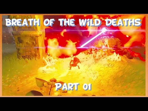 Game Grumps - Breath of the Wild Deaths Part 01
