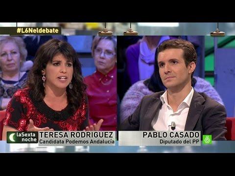 """Teresa Rodríguez, de Podemos: """"De la crisis han salido los que nunca entraron en ella"""""""