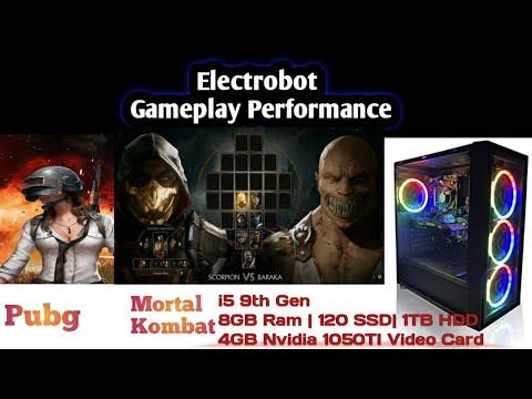 Electrobot Gaming Pc gameplay   i5 9th Gen  8GB Ram -120 GB SSD-1TB HDD  4GB video card  Azaan Tech