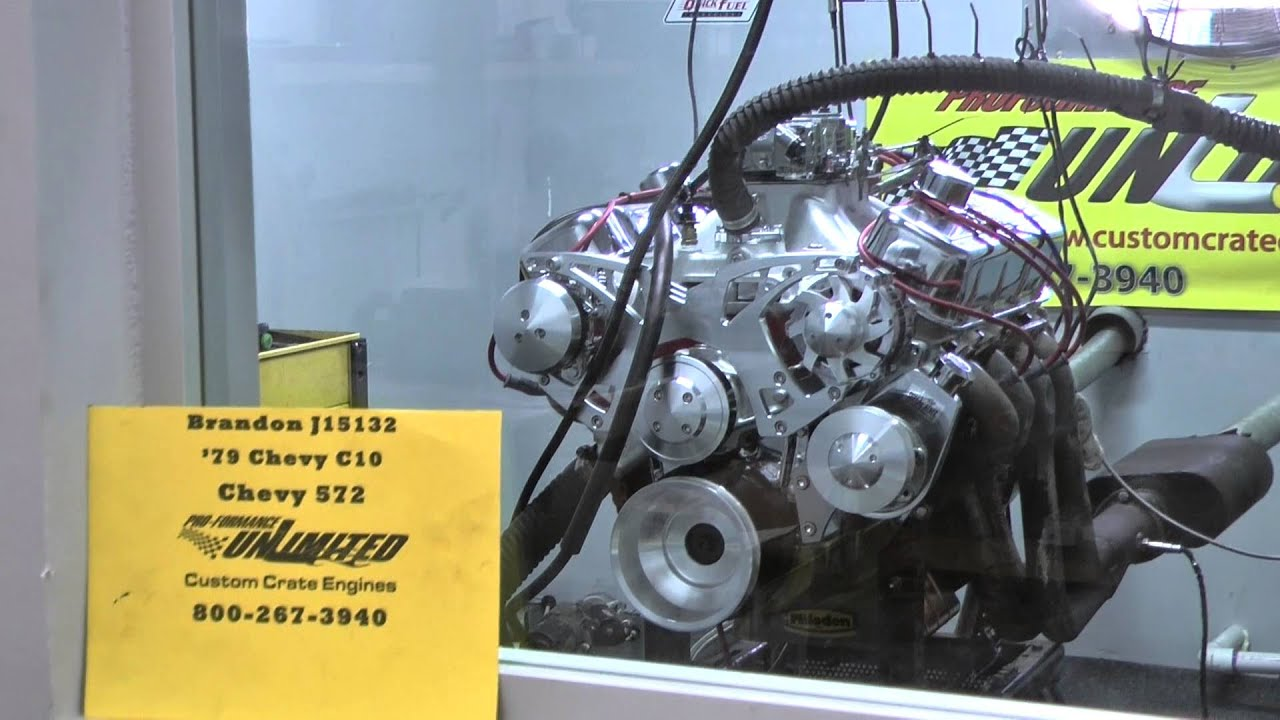 572 CI BBC Crate Engine 700HP | Proformance Unlimited Inc