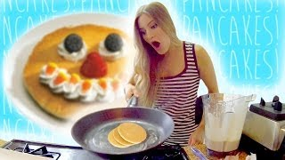 How to Make Amazing Pancakes | iJustine Cooking