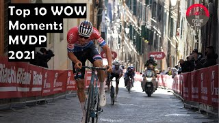 Mathieu van der Poel Top 10 WOW Moments 2021 Edition