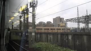 20140204@5170次[樹林発縦貫線(北段)経由基隆行](EMU100型電聯車)自強號列車~窗景/走行音~樹林→台北 Part1