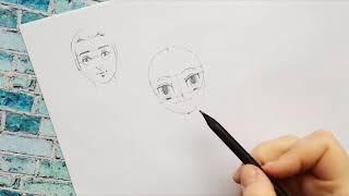 Аниме и манга: как нарисовать лицо в этом стиле.