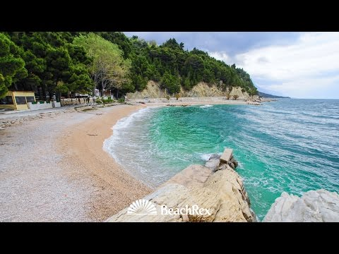beach Podcrkavlje, Brela, Croatia