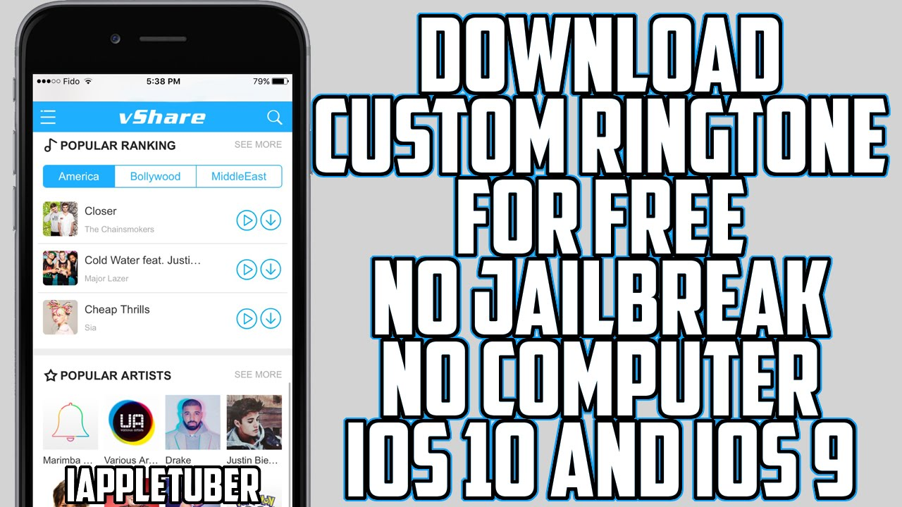 How to Download Ringtones on your iPhone Free No Computer No