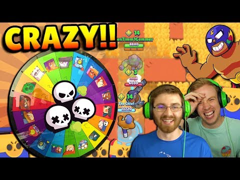 RANDOM DUO SHOWDOWN GONE.. CRAZY! MEGA BOXES, INSANE MATCHES & MORE! BRAWL STARS w/ BEN & CHIEF PAT