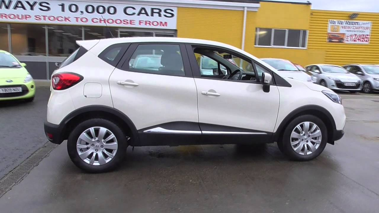 renault captur 1 5 dci 90 expression energy 5dr u38783 youtube. Black Bedroom Furniture Sets. Home Design Ideas