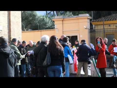 Sciopero British Telecom Italia - Roma