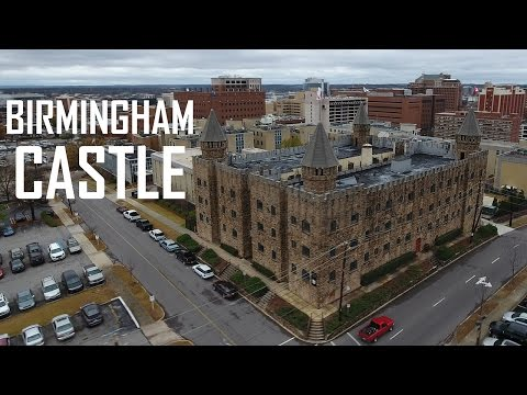 DJI Phantom 4 - Birmingham Alabama CASTLE