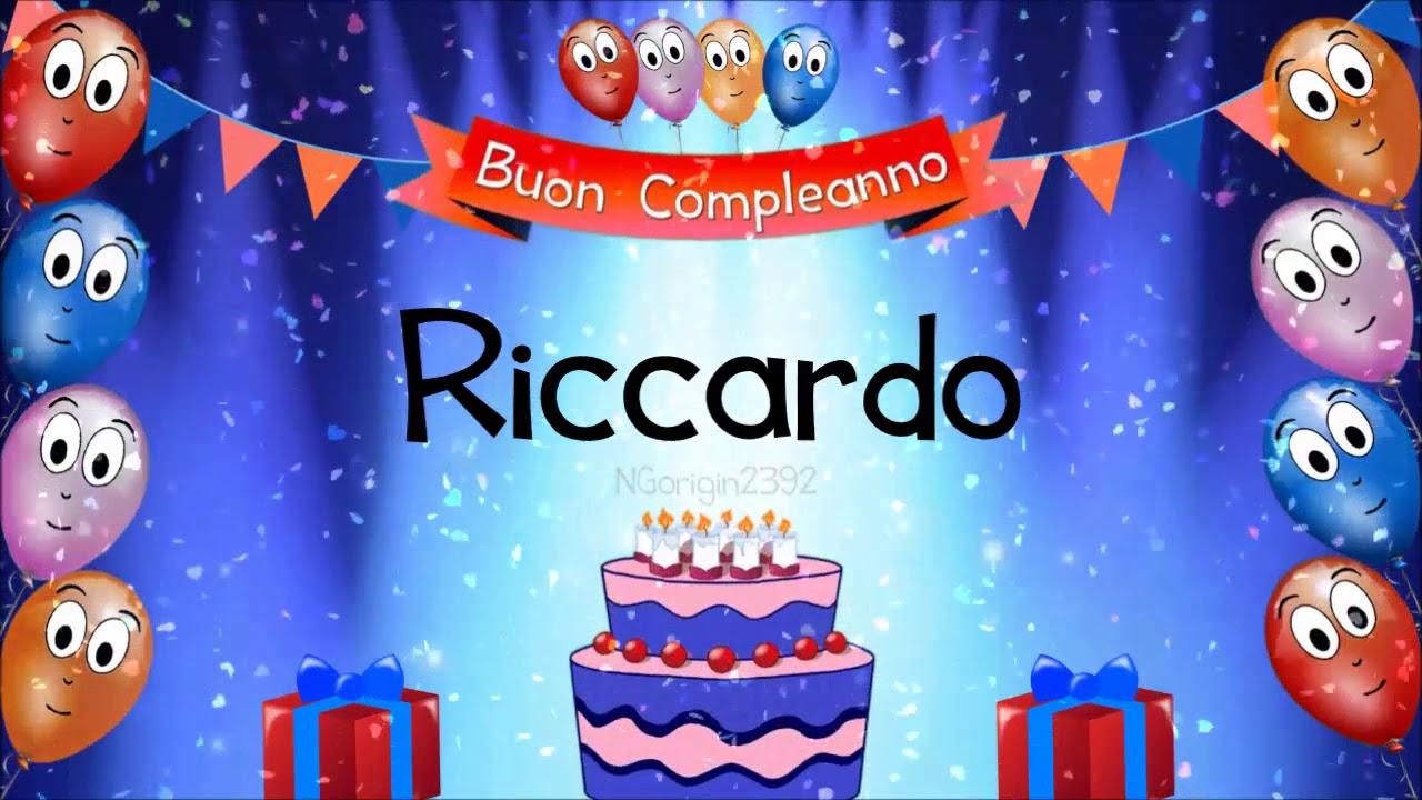 Tanti auguri di buon compleanno Riccardo!   YouTube