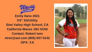 Emily Ilano 2021 SS/Utility Skills & Recruiting Video