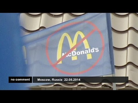 Russia: protest against McDonald's restaurants - no comment