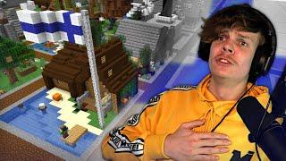 Pyysin 100 Minecraft -pelaajaa rakentamaan Suomen